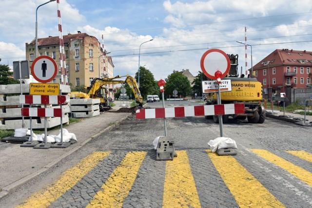 Przejazd na ulicy Chojnowskiej w Legnicy jest zamknięty! Są utrudnienia.