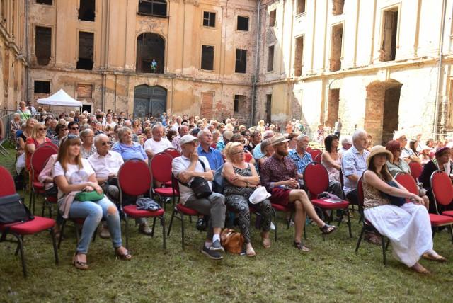 Koncertami na dziedzińcu pałacowym zakończyła się kolejna edycja spotkań z Telemannem.
