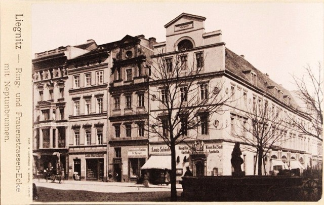 Stare zdjęcia ulicy Najświętszej Marii Panny w Legnicy