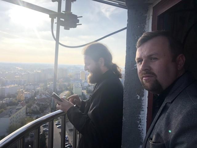 Ks. Jarosław-Cieluszecki i ks. Miroslaw-Demczuk