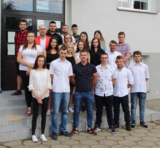 Pożegnanie absolwentów Zespołu Szkół nr 2 CKU w Kluczborku.