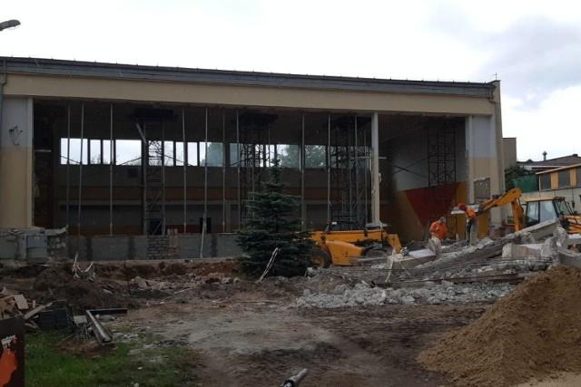 Tak wygląda sala gimnastyczna SP nr 1 w Więcborku. Po remoncie będzie jak nowa