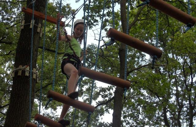 Park linowy w Tychach