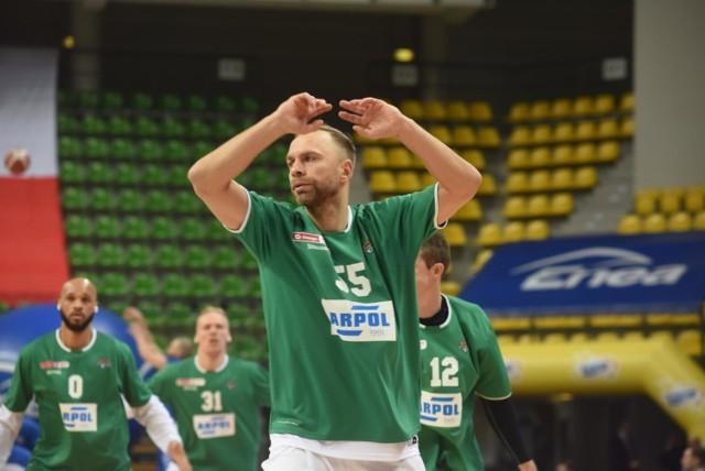 Łukasz Koszarek rozegrał świetny mecz i poprowadził Zastal Zielona Góra do zwycięstwa nad Parmą Perm.