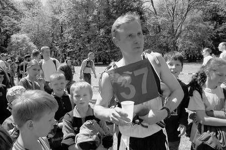 Lechosław Jacyszyn jako jedyny przebiegł trasę w czasie krótszym niż 18 minut.