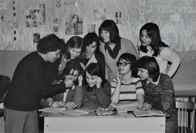 Jak wyglądały lekcje w goleniowskim Liceum Ogólnokształcącym w latach 70. ubiegłego wieku?