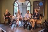 Festiwal w Busku. Pianiści Philippe Giusiano i Piotr Pawlak spotkali się w kawiarence z publicznością [ZAPIS TRANSMISJI]