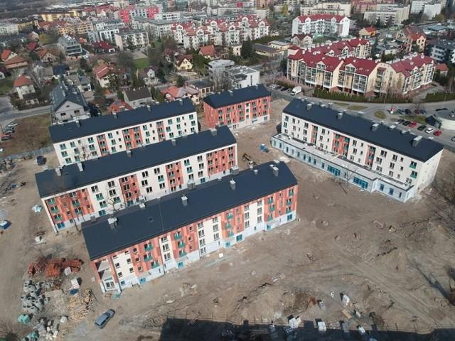 Budowa osiedla Przyzby/Zalesie