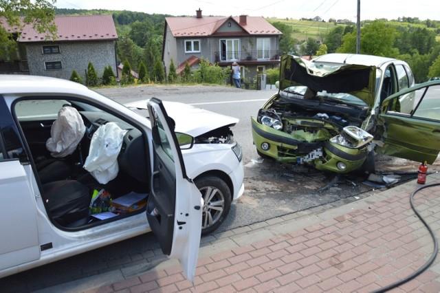 Wypadek na DK94 w Łapczycy, 14.06.2021