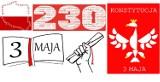 Konstytucja 3 Maja na plakatach uczniów Liceum Plastycznego w Zduńskiej Woli ZDJĘCIA