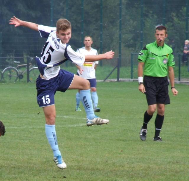 Dawid Skiernik otworzył konto bramkowe Soły Oświęcim na boisku w Gorzowie w półfinale Pucharu Polski oświęcimskiego podokręgu.