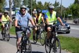 Pielgrzymka rowerowa do Częstochowy odwiedziła dziś Skierniewice [ZDJĘCIA]