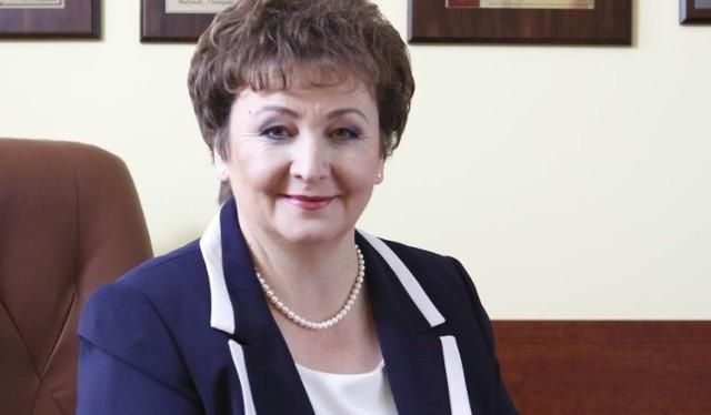 Bożena Grotowicz - dyrektor szpitala w Bielsku Podlaskim.