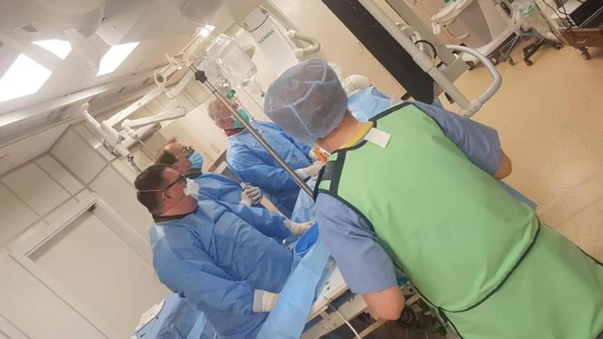 Szpital w Kaliszu po raz pierwszy przeprowadził zabiegi...