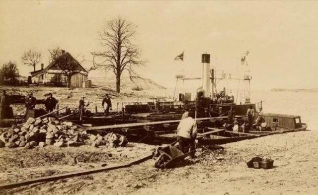 Budowa przekopu Wisły