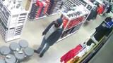 Kradzież z rozbojem w CH Platan w Zabrzu. Napastnik jest poszukiwany przez policję
