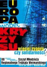 Zapraszamy do udziału w XII Szczycie Młodzieży Regionalnego Trójkąta Weimarskiego 2012
