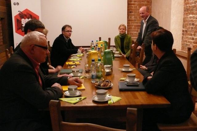 Spotkanie z dyrektorem Narodowego Centrum Kultury odbyło się w urzędzie miasta w Bełchatowie