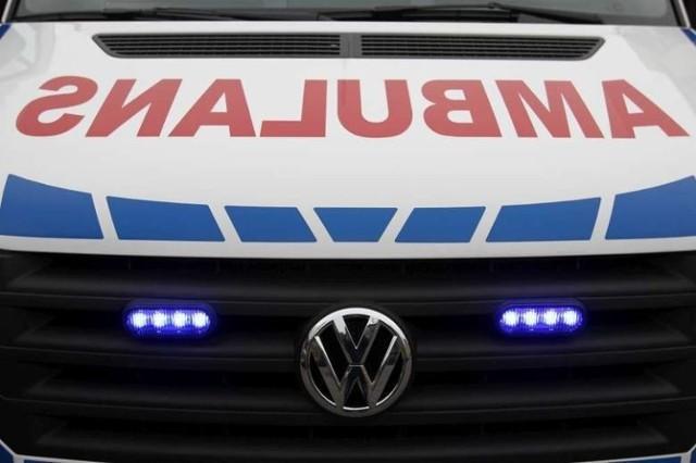Wypadek w Poznaniu. Tramwaj zderzył się ambulansem.