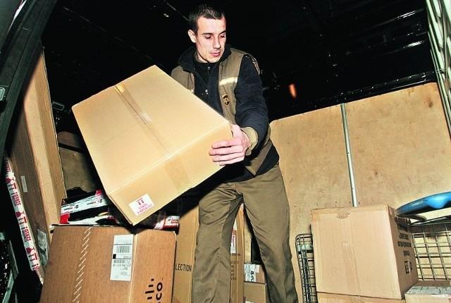 Tomasz Haber z UPS ma pełne ręce roboty. Wrocławianie wysyłają tony prezentów