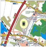 Euro 2012: Jak będzie zorganizowany ruch wokół stadionu (MAPA)