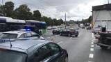 Korki w stronę prawobrzeża. Dwa samochody zderzyły się na ul. Energetyków [ZDJĘCIA]