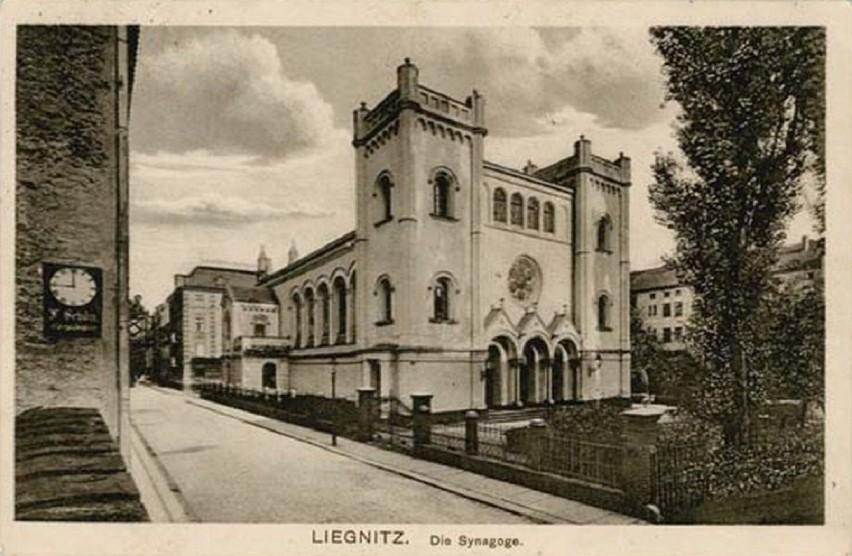 Nieistniejąca synagoga znajdująca się na Starym Mieście w...