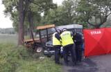 Kolizja czterech aut w Raciszynie i tragiczny wypadek w Kątach Walichnowskich