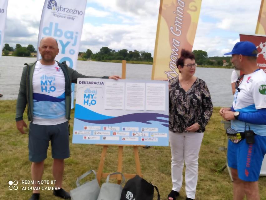 Ponad 300-kilometrowy spływ zakończył się w Mikoszewie. Wąbrzeźno uzyskało dostęp do morza, a Gmina Stegna dołączyła do akcji #dbajMYoH20