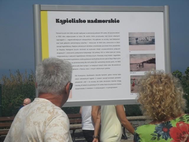 Na promenadzie nadmorskiej w Ustce wystawiono tablice, na których umieszczone zostały ciekawostki z dziejów nadmorskiego kurortu. Te informacje mogą zaciekawiają głownie turystów, ale zapewne także mieszkańcy regionu będą mogli czegoś się dowiedzieć. Zobaczcie zdjęcia!