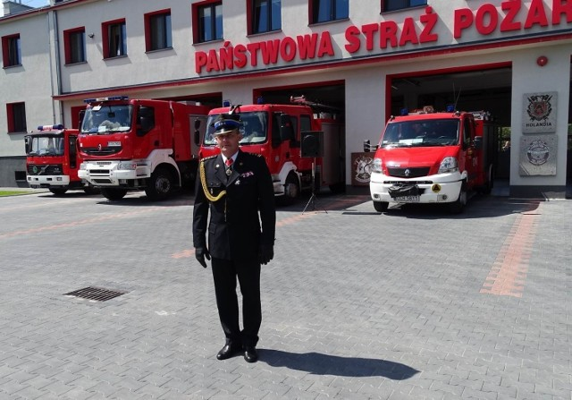Dzień Strażaka w Chełmnie połączony był z pożegnaniem odchodzącego na emeryturę  st. bryg. Karola Utraty,  komendanta PSP Chełmno