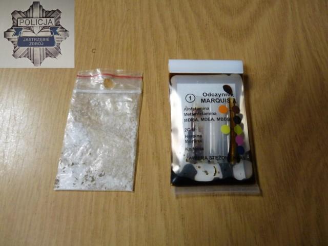 Narkotyki w Jastrzębiu: miał w aucie amfetaminę