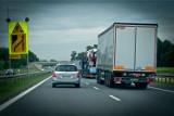 Uwaga, korek na autostradzie A4 pod Wrocławiem!
