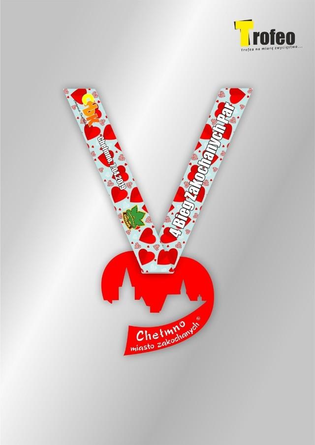 Takie medale przygotowali organizatorzy imprezy w Chełmnie
