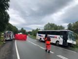 Witowice Górne. Śmiertelny wypadek na DK 75. Dwóch chłopców walczy o życie w szpitalu w Krakowie, prokuratura prowadzi śledztwo[ZDJĘCIA]