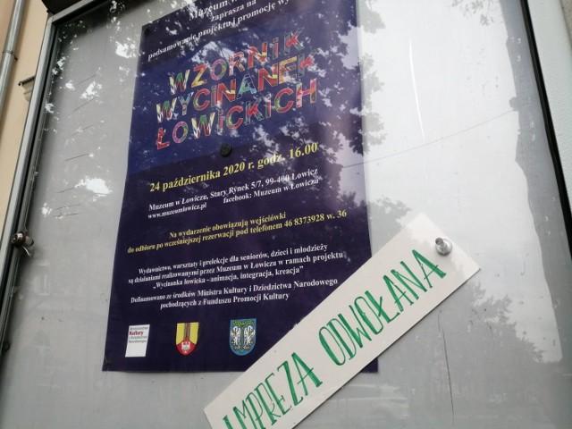 Muzeum w Łowiczu z powodu pandemii odwołuje sobotnią promocję wzornika wycinanek