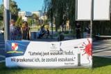 Protestowali przeciwko pandemii w Jaworznie [ZDJĘCIA]