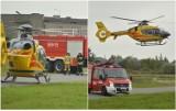Wypadek z udziałem spadochroniarza pod Włocławkiem. Śmigłowiec LPR w akcji [zdjęcia]