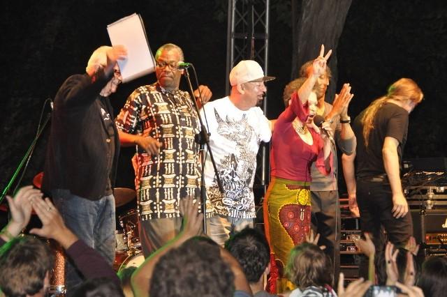 Zdjęcia z pierwszego dnia festiwalu Jazz w Lesie w Sulęczynie