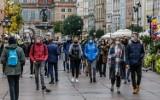 Czerwona strefa nie odstraszyła gdańszczan, którzy wylegli na sobotni spacer. Zdjęcia