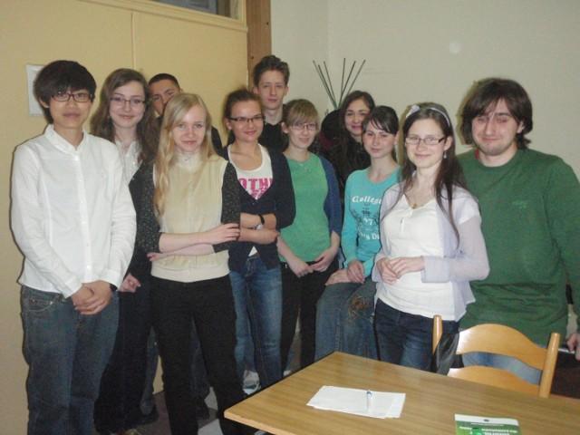 AIESEC High School- uczniowie podczas zajęć
