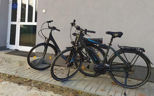 Policjantom udało się odzyskać skradzione rowery i ładowarki do nich