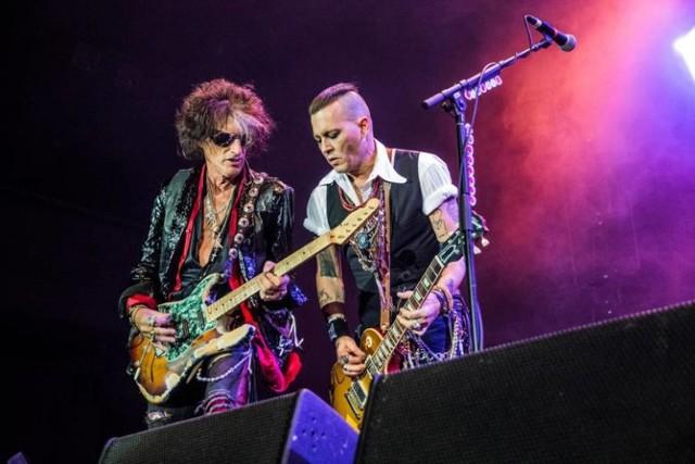 Johnny Depp z Hollywood Vampires zagrają na Festiwalu Legend Rocka 2020 w Dolinie Charlotty