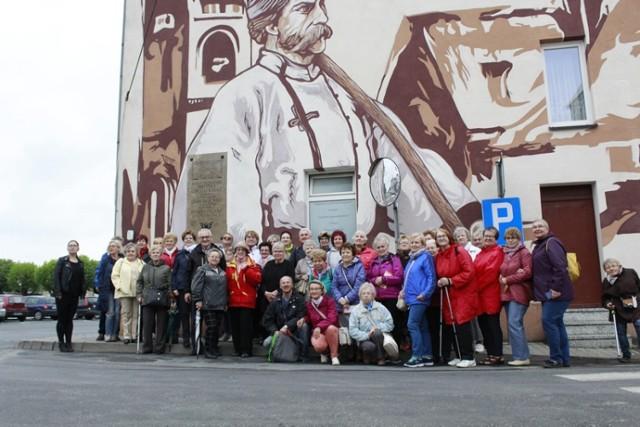 Kolejny Spacer Historyczny za nami. Tym razem spacerowicze odwiedzili Książ Wlkp. i jego okolice