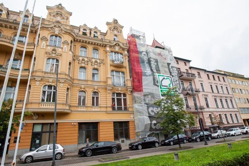 Remont kamienicy przy Placu Wolności 3 w Bydgoszczy