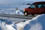 ALERT RCB Opolskie. Opady śniegu, zawieje i zamiecie w niedzielę i poniedziałek. Ostrzeżenie IMGW
