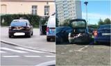 Romowie podróżowali w bagażniku auta. Zatrzymali ich oleśniccy funkcjonariusze