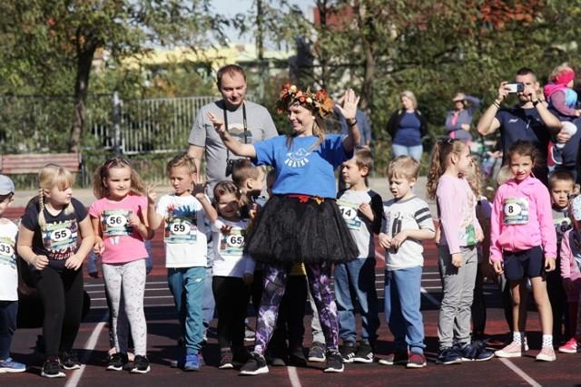 Junior Bieg o Złotego Liścia w Legnicy.