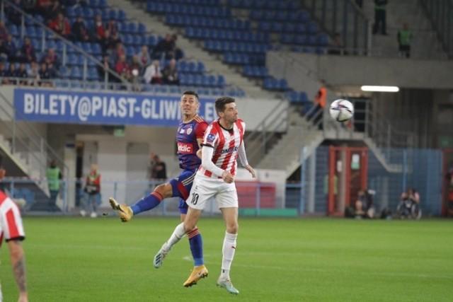 W meczu Piast Gliwice - Cracovia (2:4) Pelle an Amersfoort strzelił aż trzy bramki