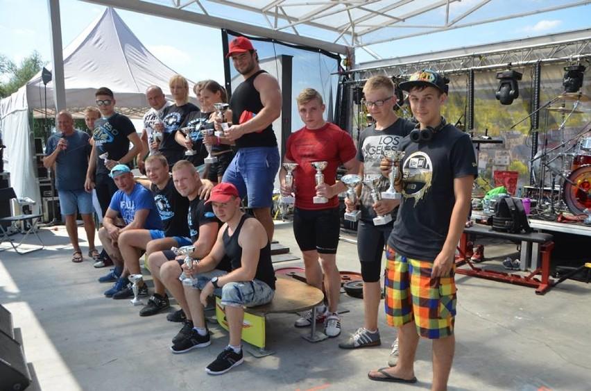 Zawody w Wyciskaniu Sztangi Leżąc. VIII Świeto Jeziora - 4 sierpnia 2018